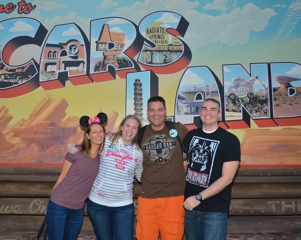 We can't wait to take Brian & EJ to Disneyworld with their girls in 2021!