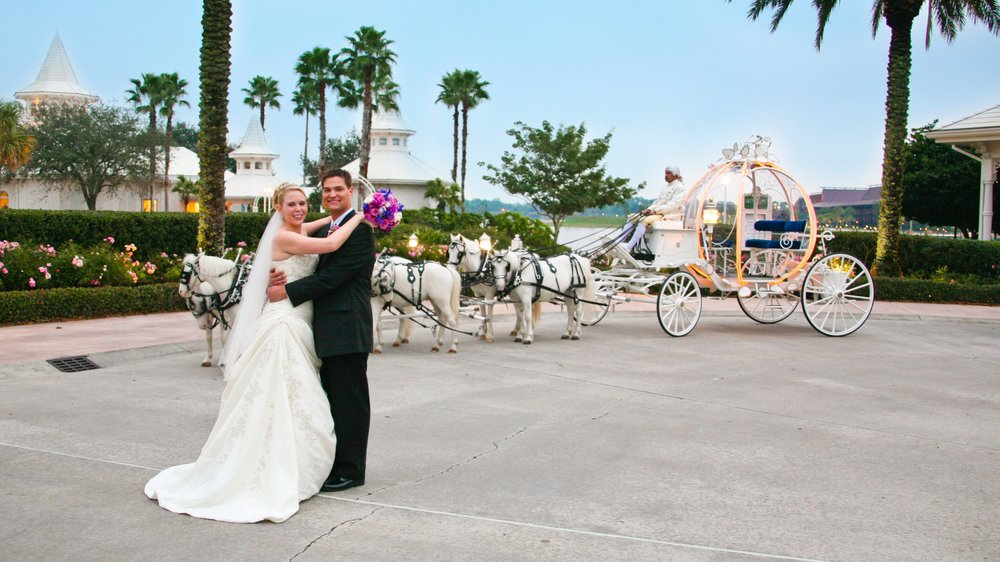 One of our favorite memories: Our Disney Fairytale Wedding!