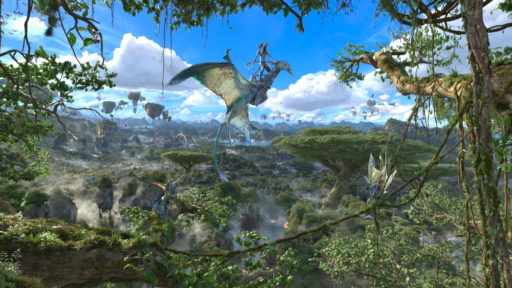"A scene from ""Flight of Passage."" (Photo Credit: Disney)"