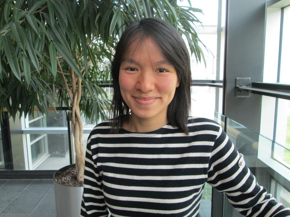 Madeleine Borgeat , Honours & NSERC, 2014-2015  2016- Étudiante au Baccalauréat en Orthophonie, Université de Montréal