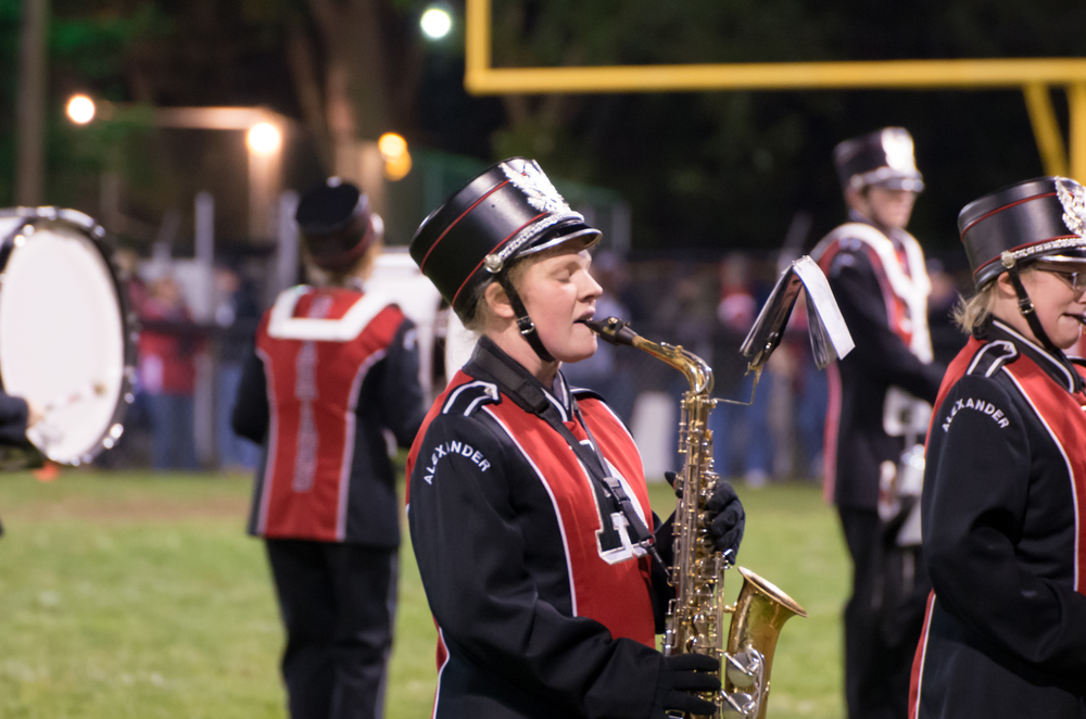 2014-10-24 Football Game - click to view the entire gallery