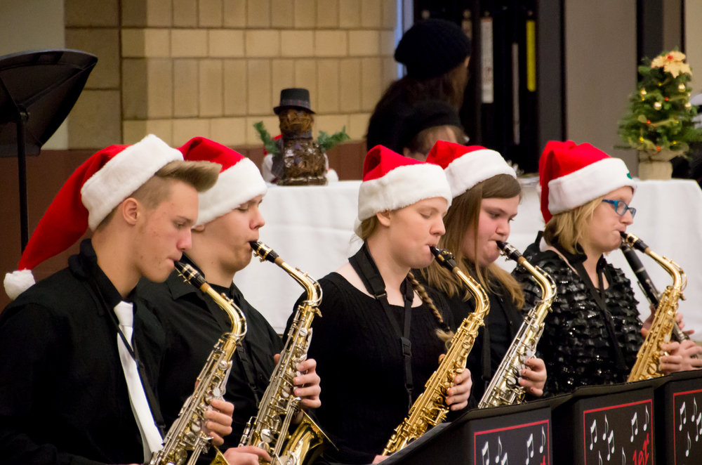2014-12-06 Soup With Santa - click to view the entire gallery
