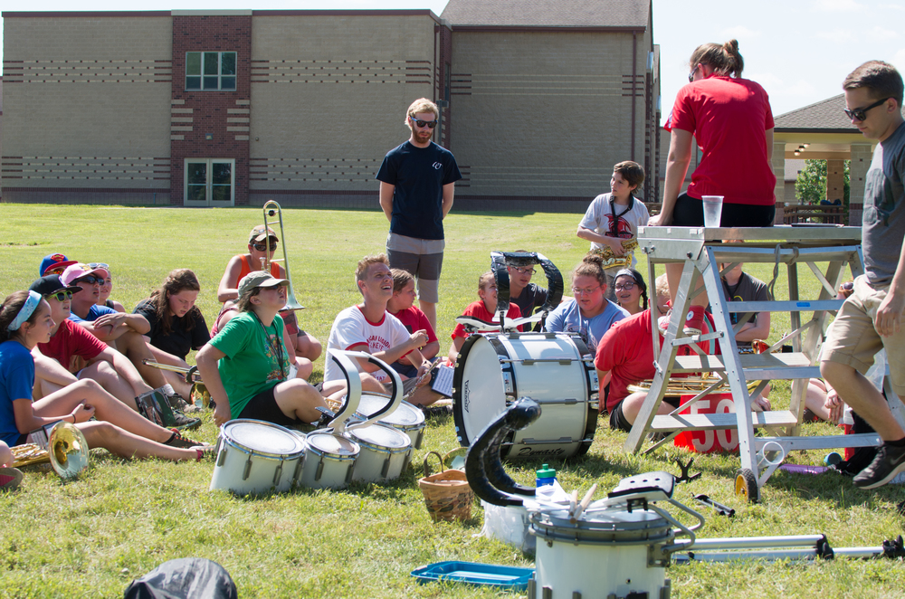 Band Camp Performance - click to view the entire gallery