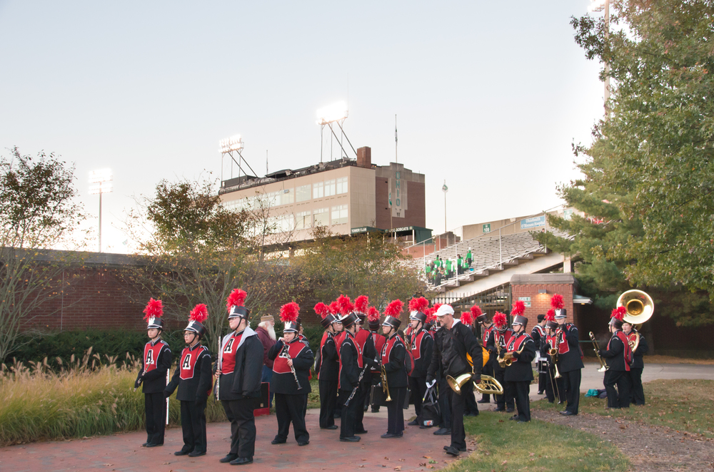 OU Band Day - click to view the entire gallery