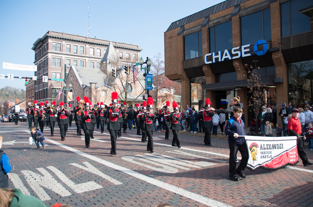 Veteran's Day Parade - click to view the entire gallery