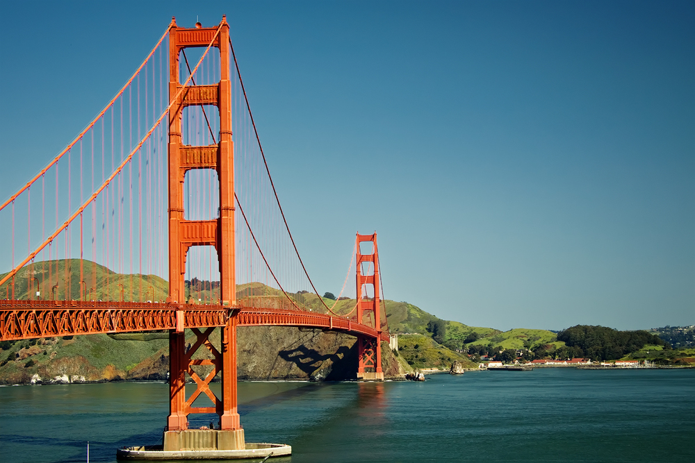 The Golden Gate Bridge by Steven Pavlov via Creative Commons