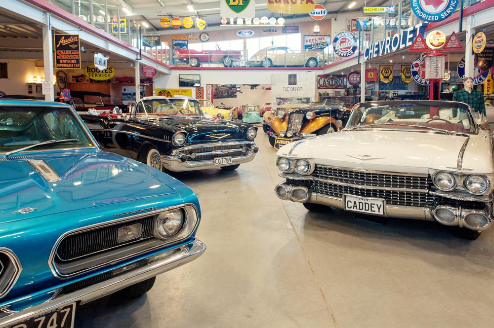 Auto Garage For Sale Hamilton: Classics Museum