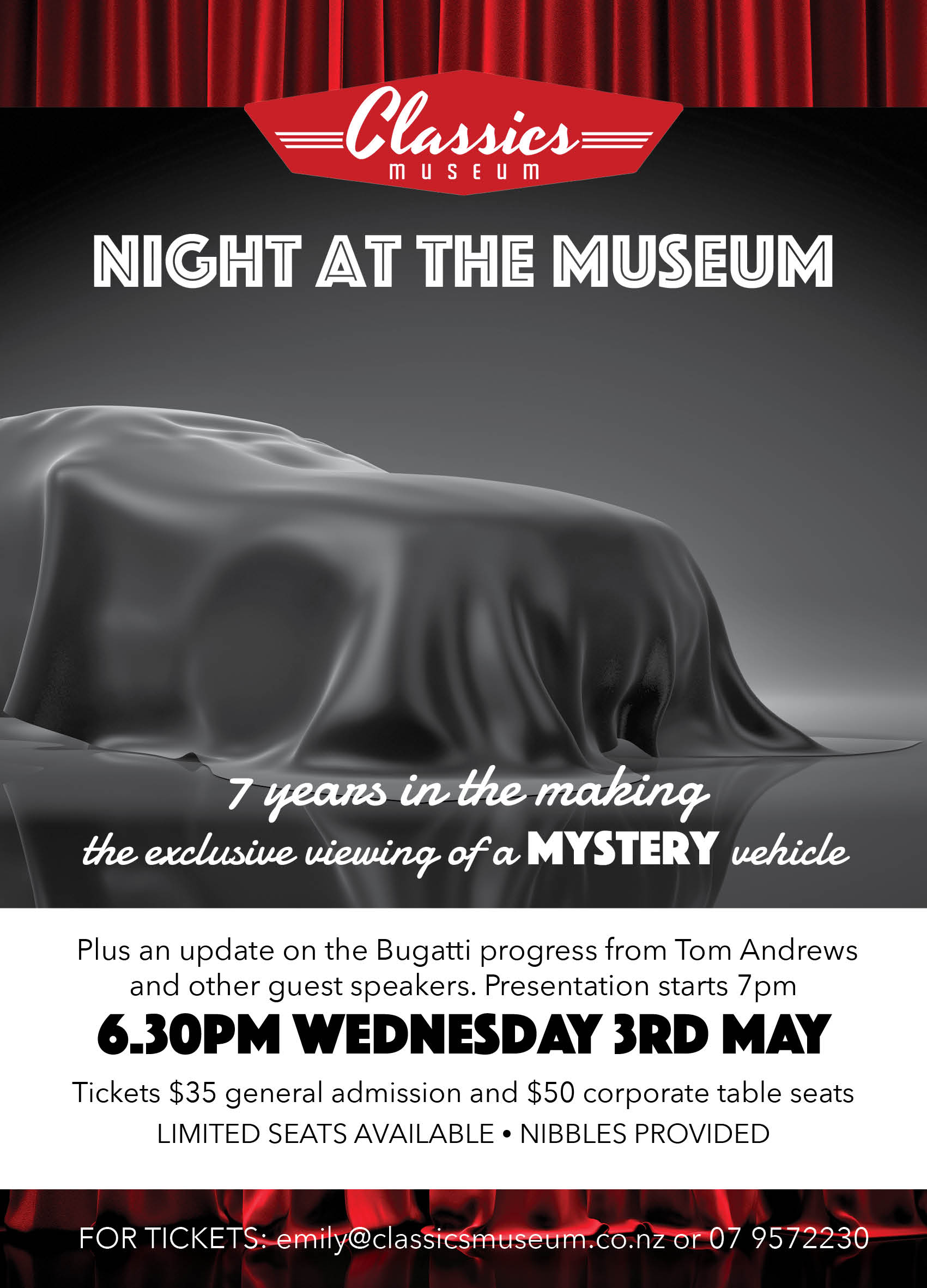Night at the Museum — Classics Museum