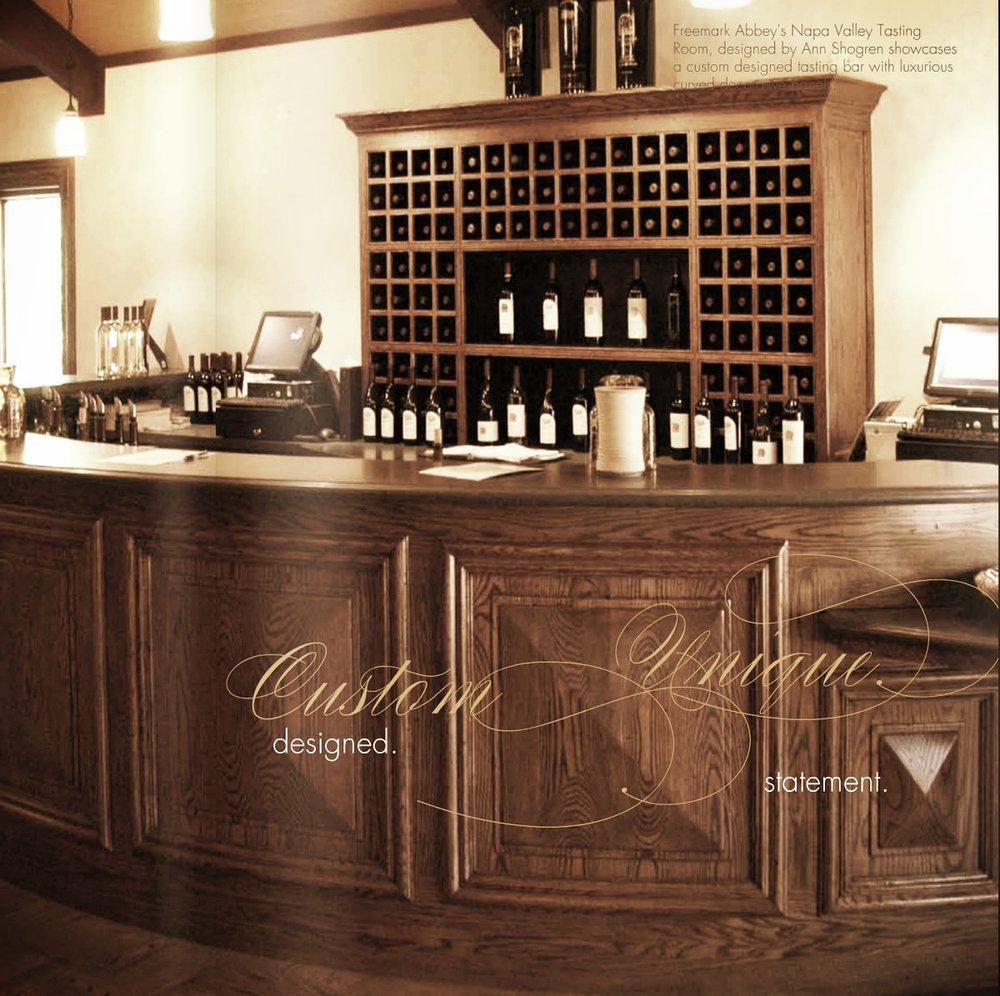 wine tasting room furniture. Freemark Abbey Interior Design Wine Tasting Room Furniture Y