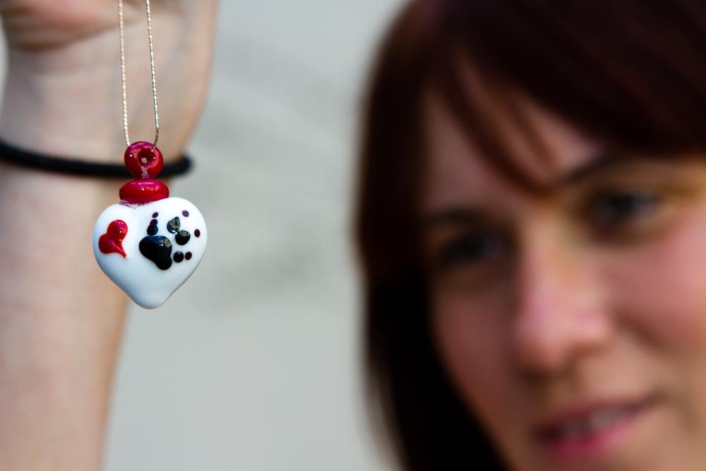 Cremation Jewelry Pendant