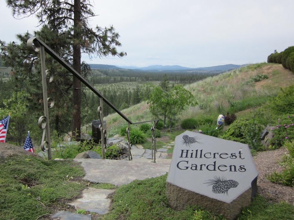 Spokane Washington Hillcrest Gardens Scattering Garden