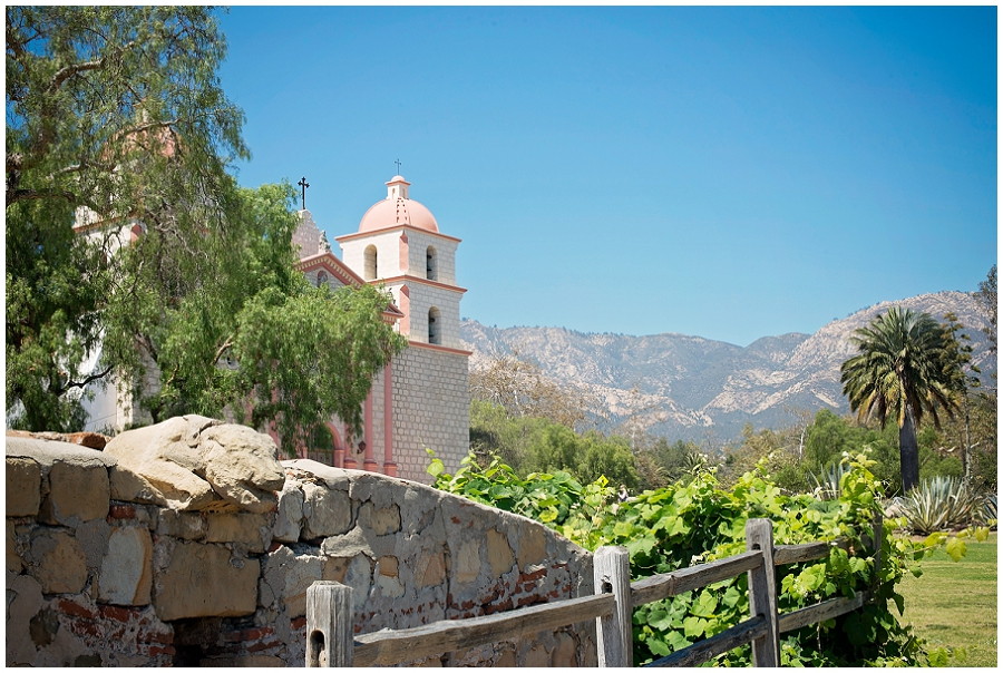Mission Santa Barbara....  I love the CA landscapes