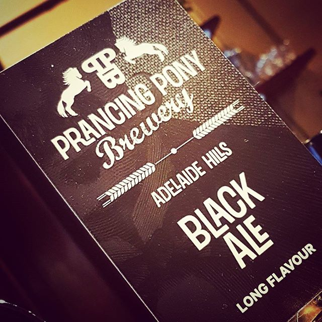 Want to see off the lingering winter chills with a top notch Black Ale? Try the awesome hearty dark nectar from Prancing Pony down at the Pot Belly! I'll save you a seat. #prancingponysa #blackale #potbellybar #summeriscoming #belconnen #craftnotcrap #canberra
