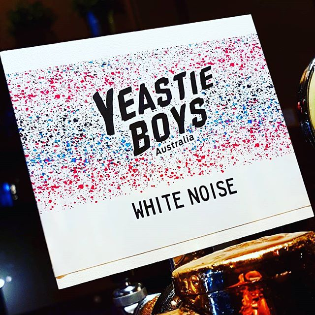 Well, well, well look what we have here... White Noise by Yeastie boys! A witbier like this is a rarity, smooth, aromatic, loaded with chamomile and now on tap at Pot Belly Bar. #canberra #canberracraft #craftnotcrap #belconnen #yeastieboys #whitenoise #potbellybar