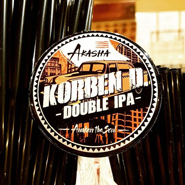This Saturday from 5pm. 1 keg. 1 time only... Korben is crashing at ours this weekend! DON'T MISS OUT! #akashabrewing #korbendiipa