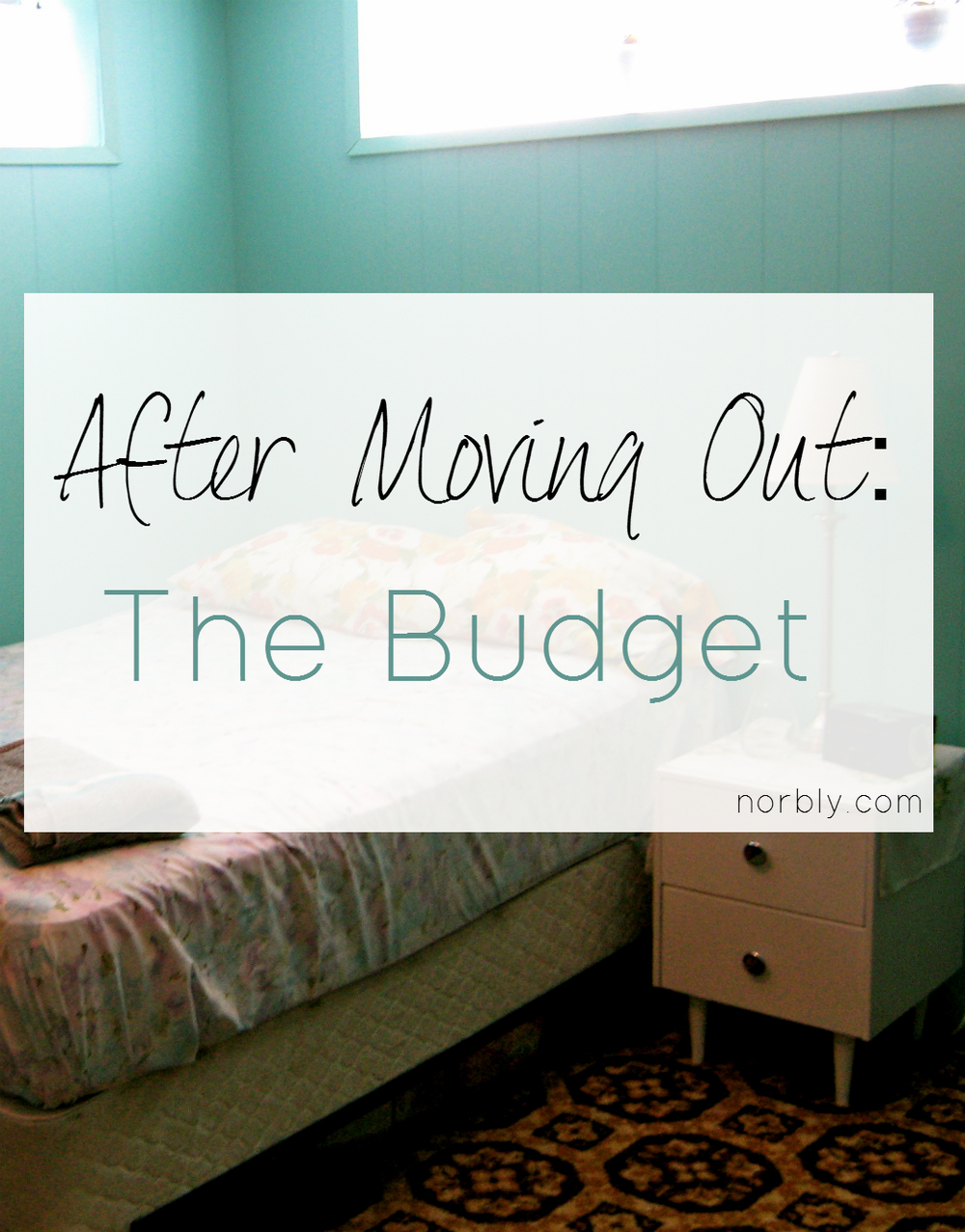 You've moved out and you're finally free! Until those bills start rolling in. Your old budget is no longer any help. Here's a step by step guide to making a new budget that will work for you, along with free resources and tips!