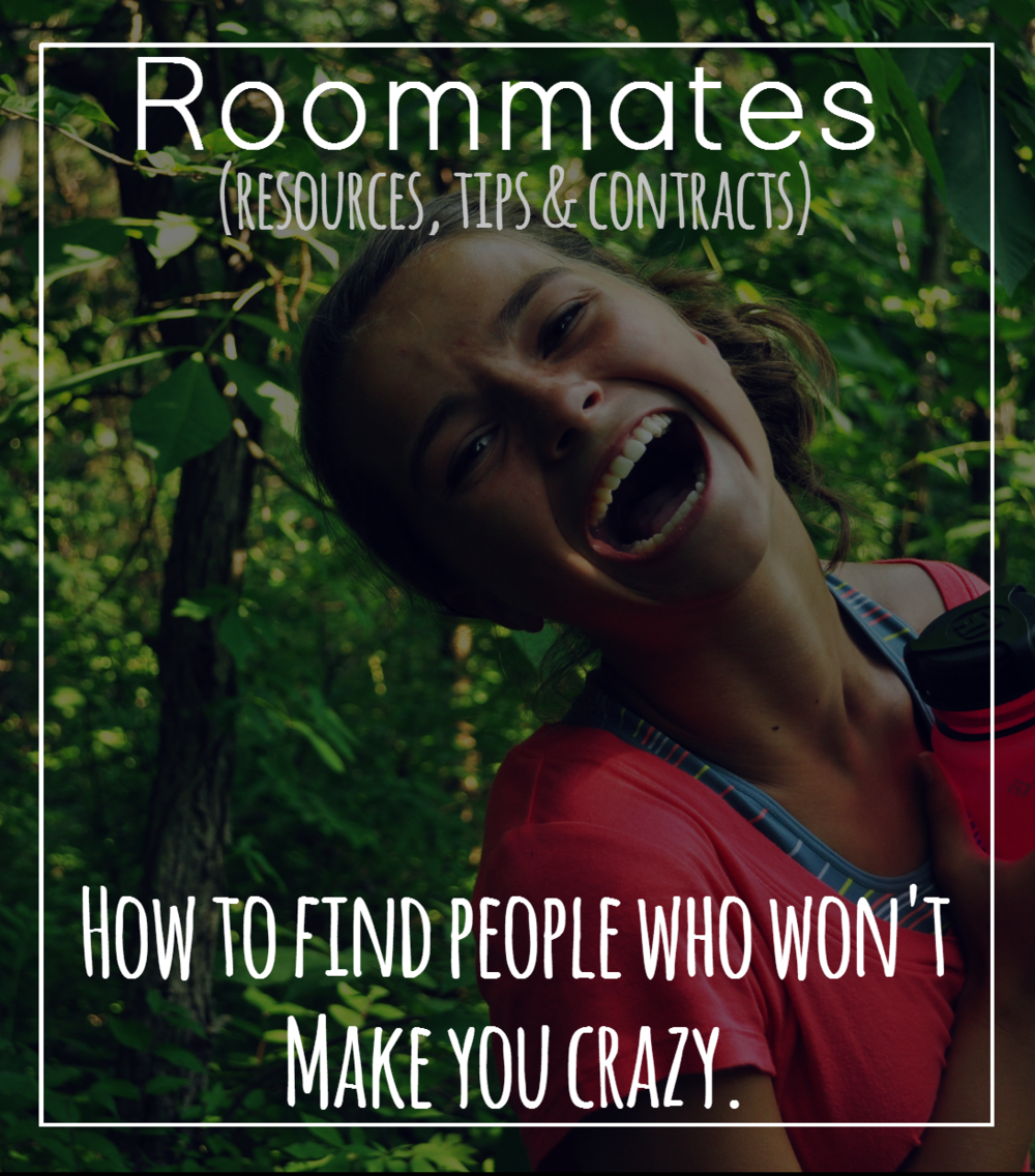 Moving out and need a roommate? Read this complete guide on finding people & living with them. Resources, tips and how to live with your bf/gf.