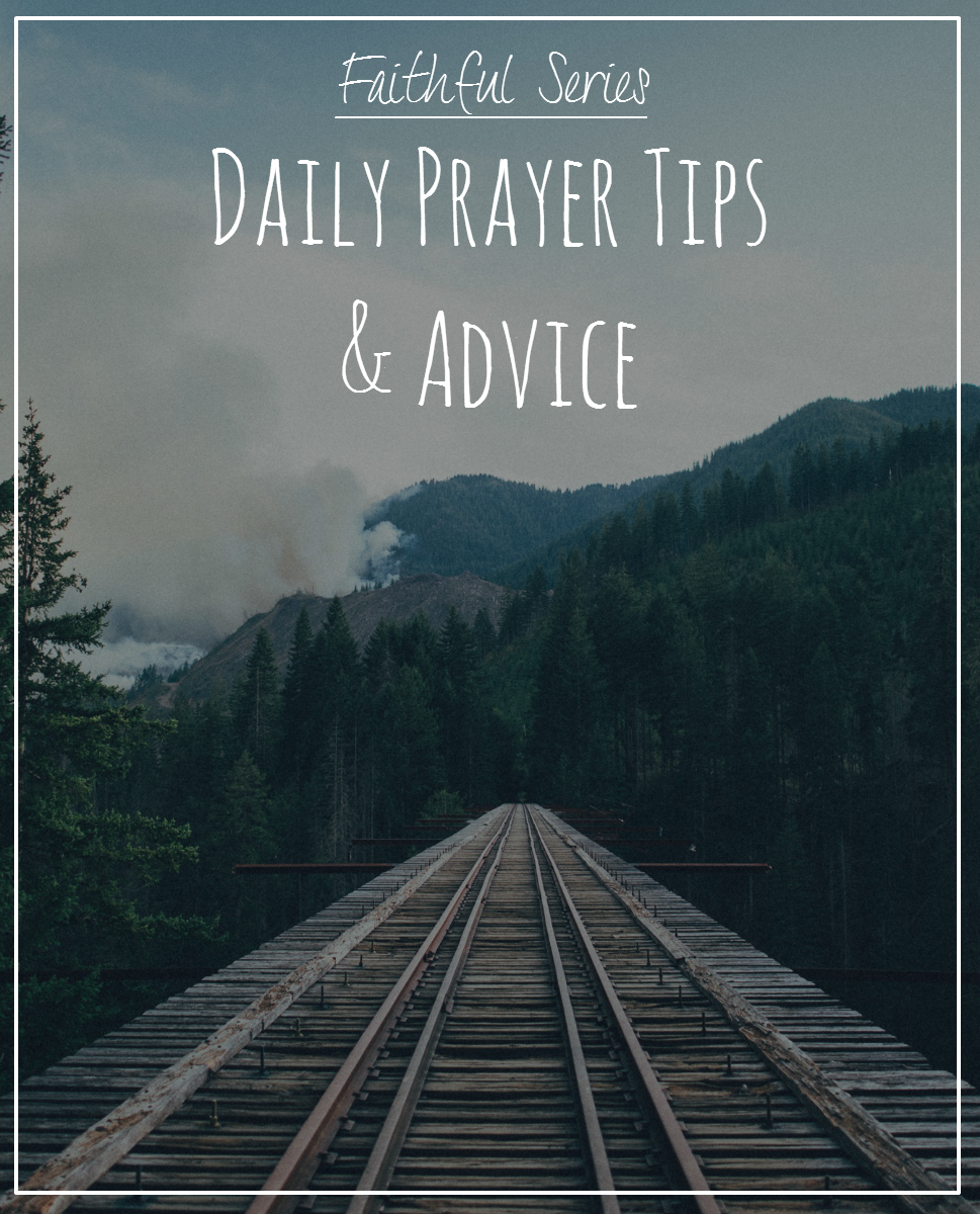Prayer can literally change your life. I know I don't pray as often as I should (or as often as I need to). This post is all about prayer, how to make it a habit and how to start the conversation with God.
