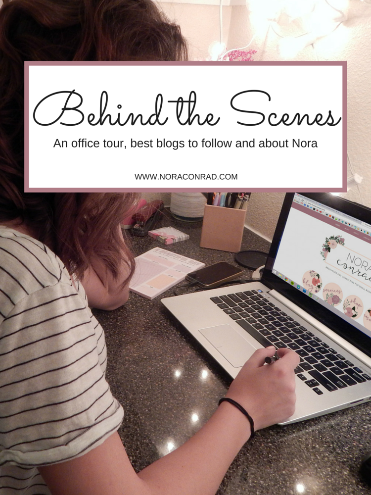 Meet Nora Conrad and take a look at her office, favorite blogs and client process.