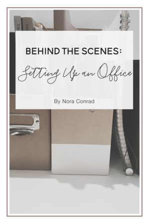 Behind The Scenes: Setting Up an Office