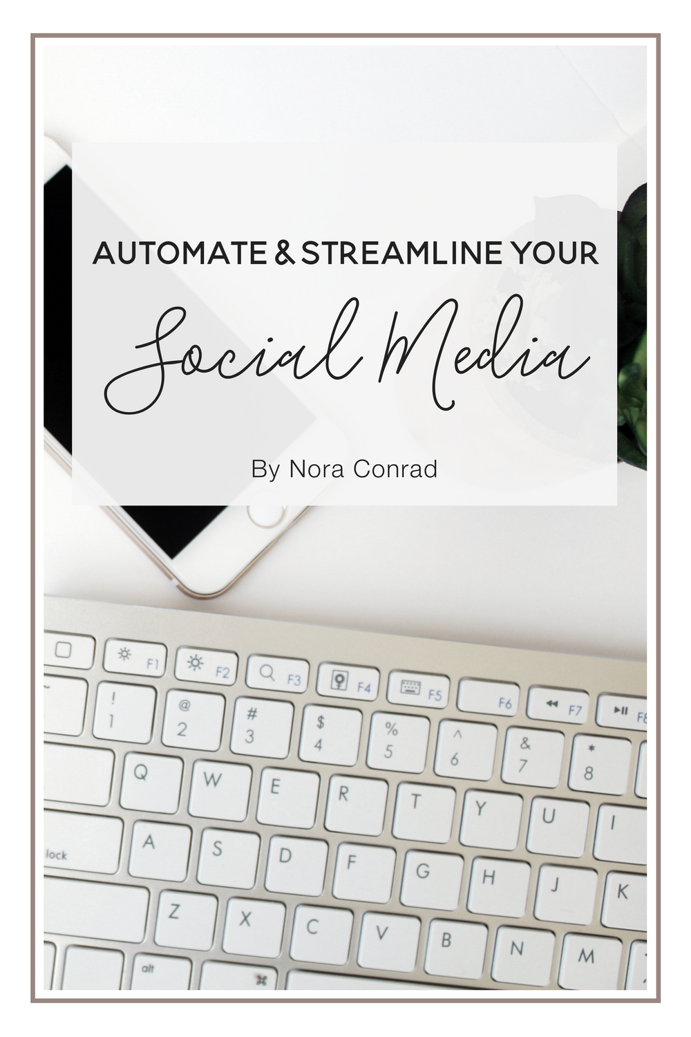 Using a couple fantastic tools, you can pre-schedule your social media and save hours every week. This guide and free resources will help you get started!