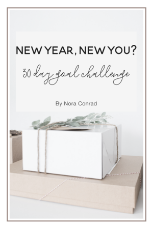 New Year, New You? 30 day goal challenge