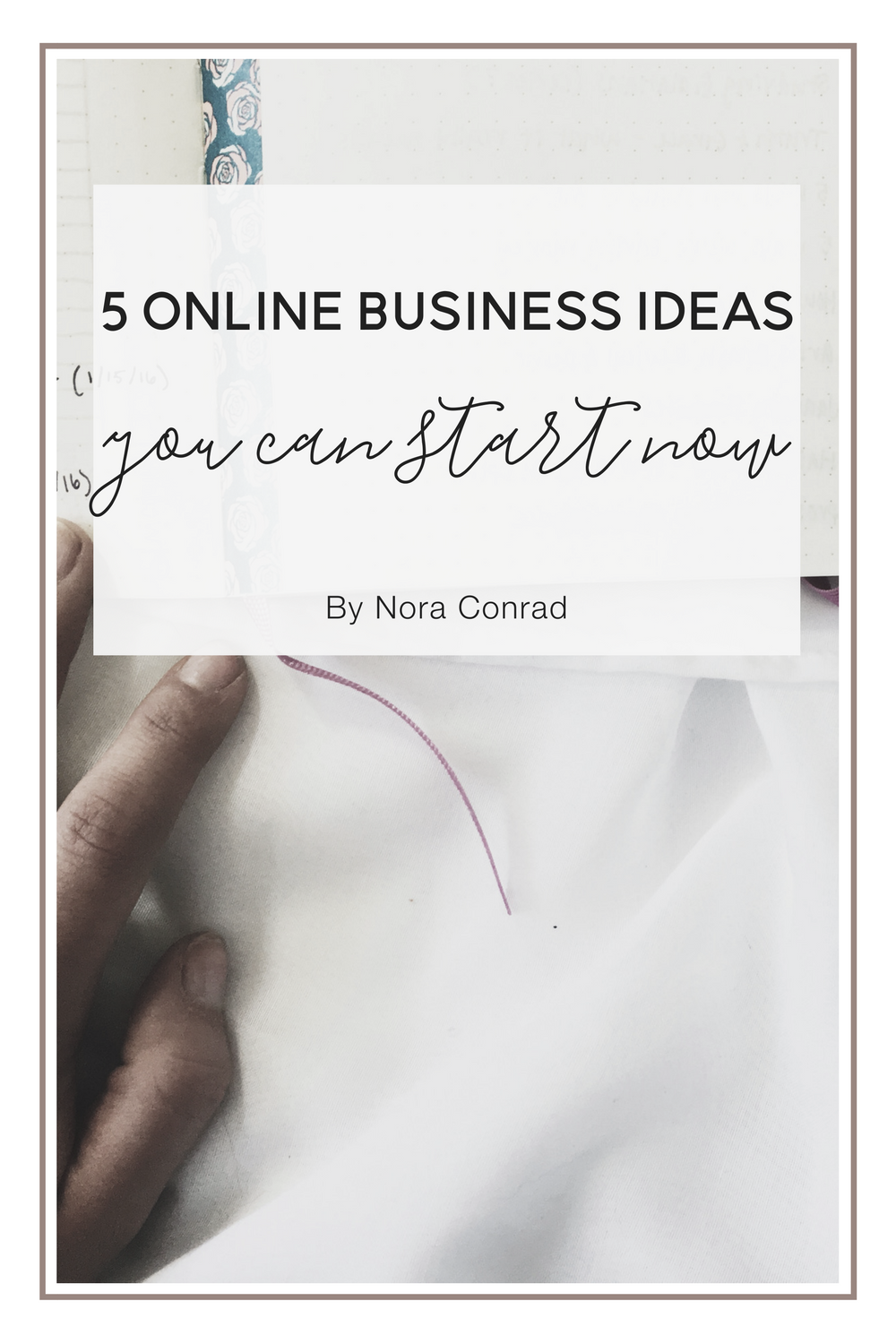 5 ways to make money online that anyone can do. Broken down into 5 categories and then details and ideas under each. Online business ideas made simple.