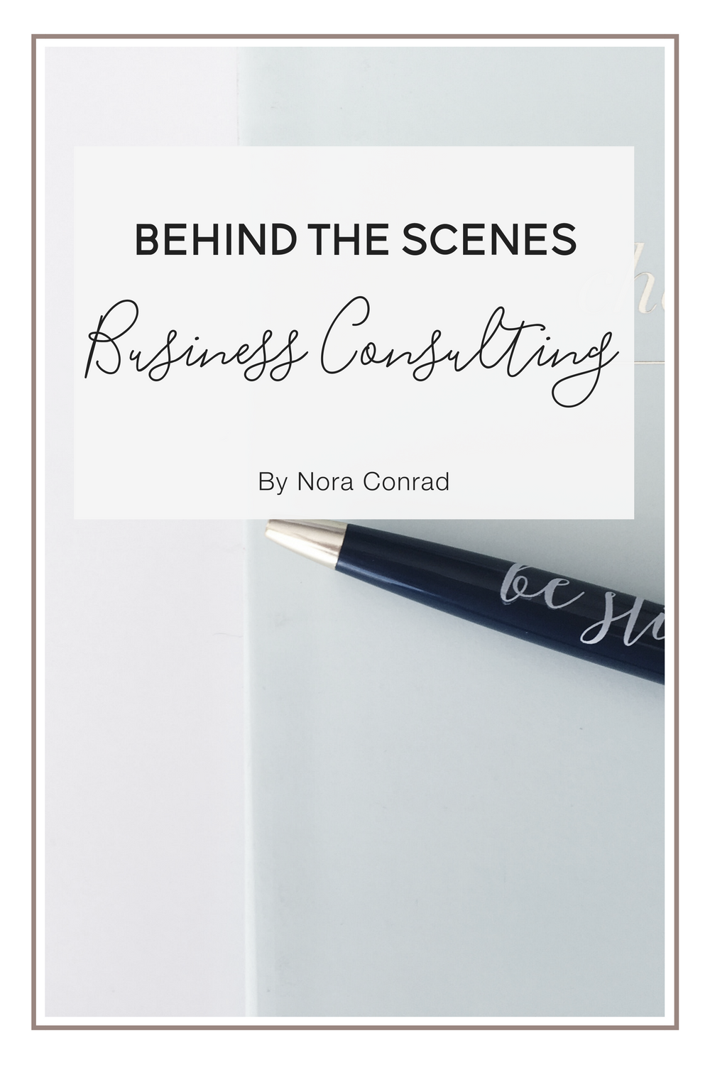 This post is all about the behind the scenes of business consulting. How to find clients, where to meet & talk, contracts, prices and the process. A full look at consulting from the consultant's side.