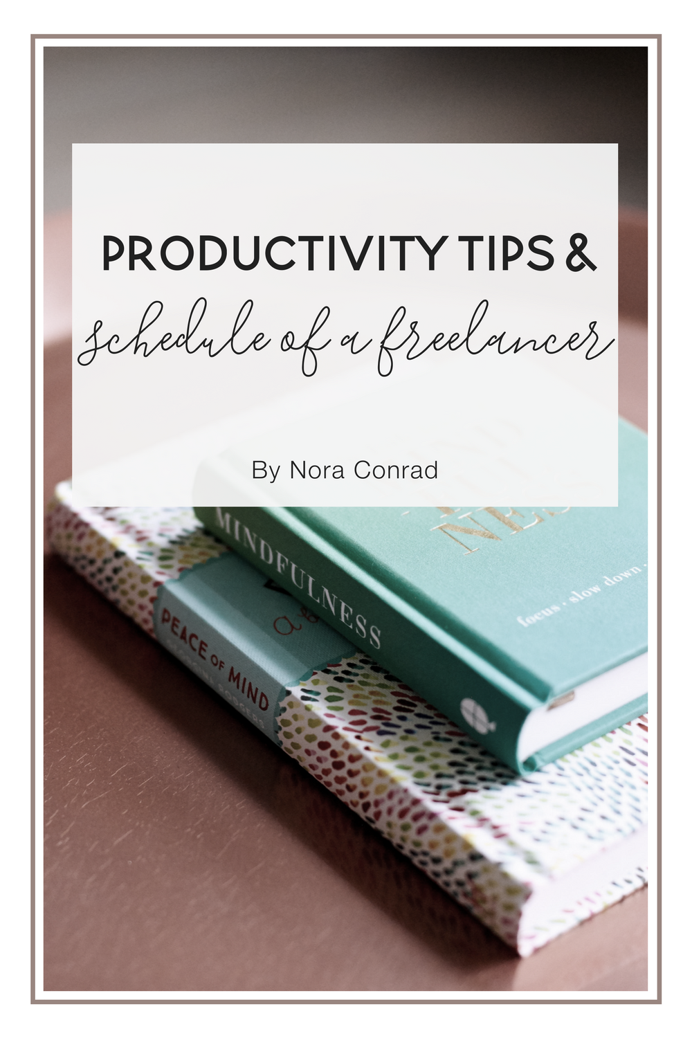 How to increase your productivity and make the most of each day. Plus a look at my Monday schedule and how I use time blocks to schedule the day.