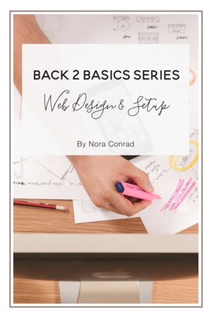 Back 2 Basics: Web Design & Setup
