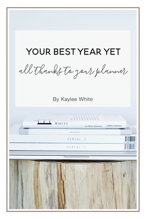 Your Best Year Yet - All Thanks to Your Planner