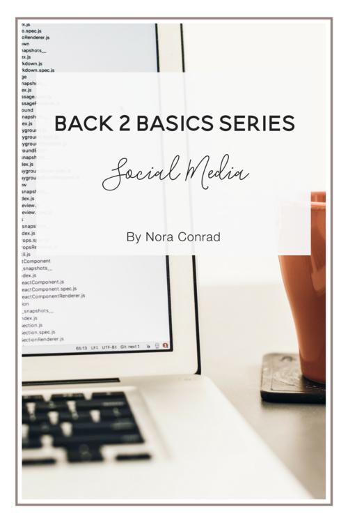 Social Media Basics blog post