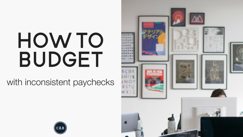 How to budget on an inconsistent income.