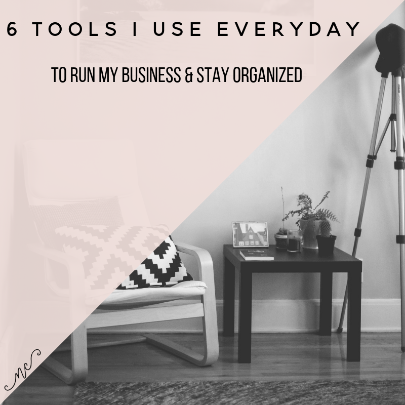 6 tools I use to run my business