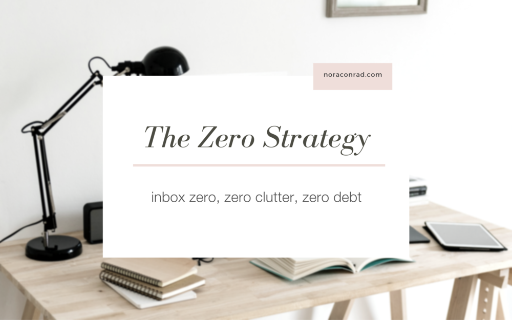The Zero Strategy is a membership club for women who want to simplify their lives