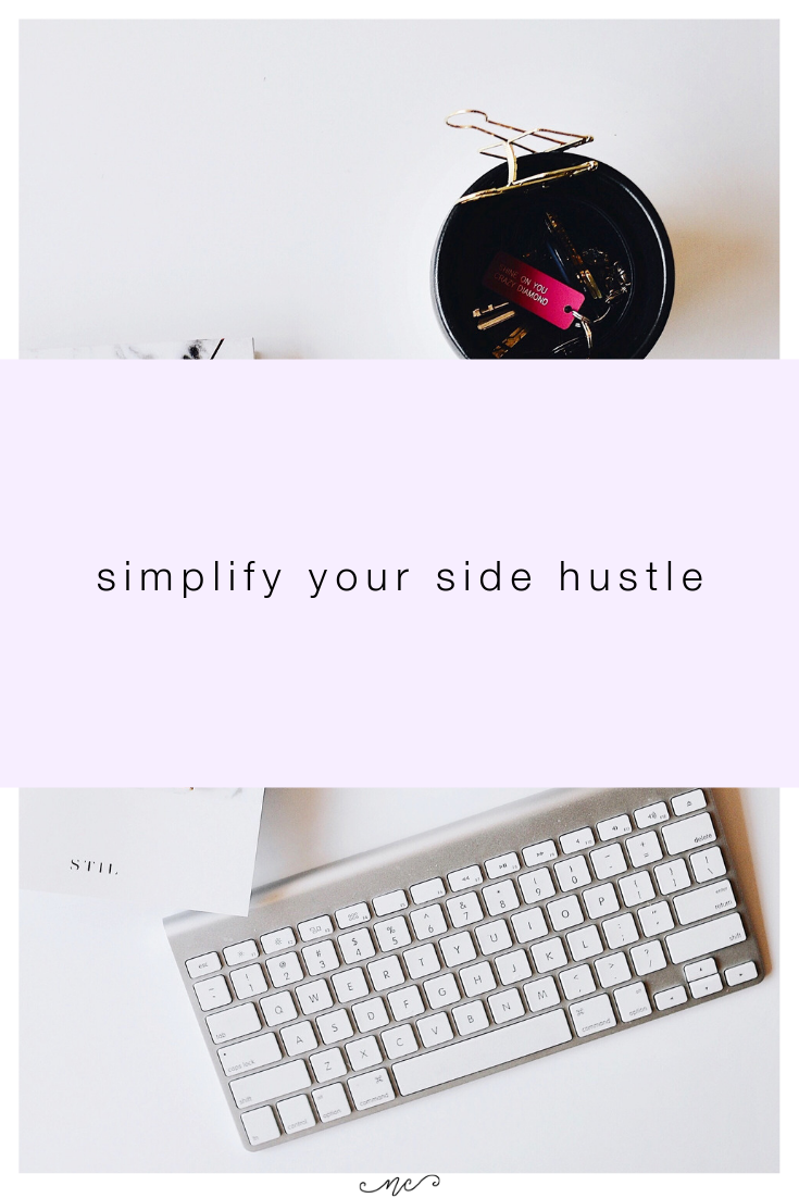 how to simplify your business and keep your schedule tight so you have time to focus on bigger goals