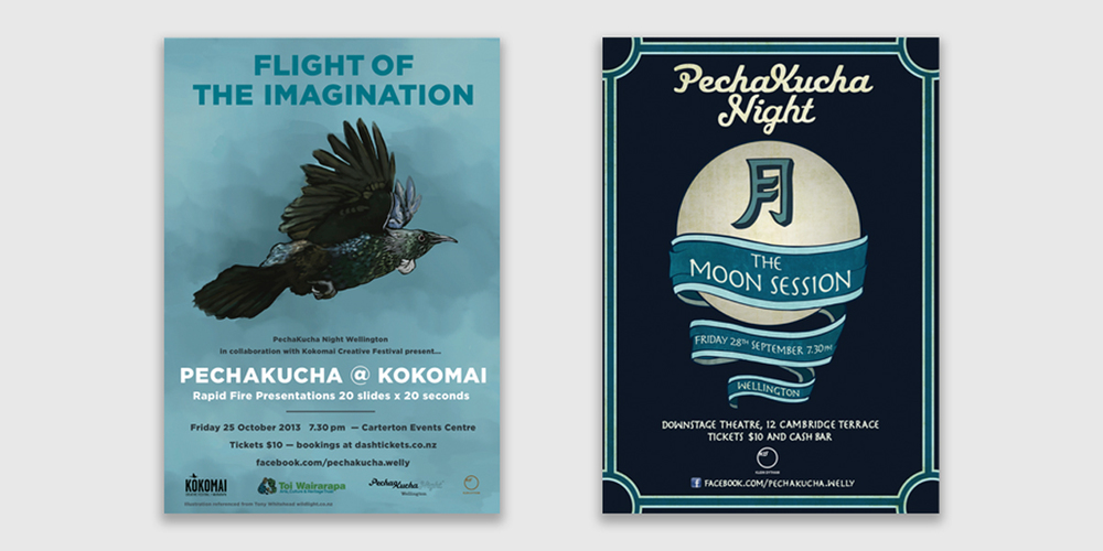 PechaKucha Poster Designs