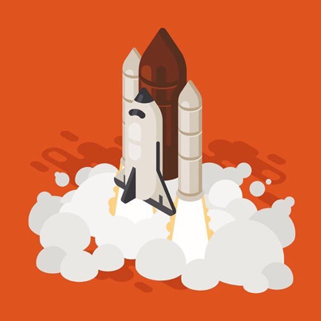 We're so close to launching some of the work we've been working on lately and we can't wait to share it! Watch this space!  Illustration by @julypluto 🚀❤️