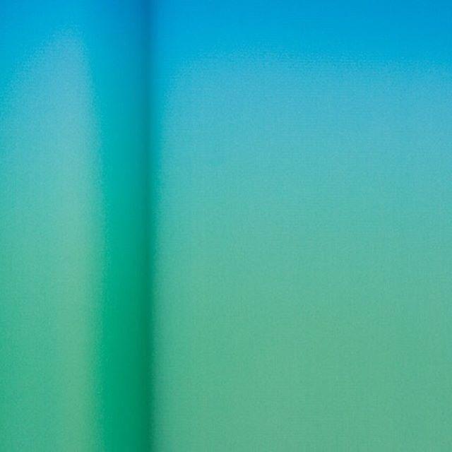 Smooth gradients 💙💚 Via @designspiration