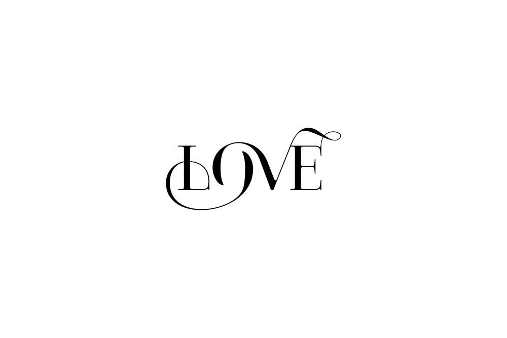 love-custom-typography-moshik-nadav