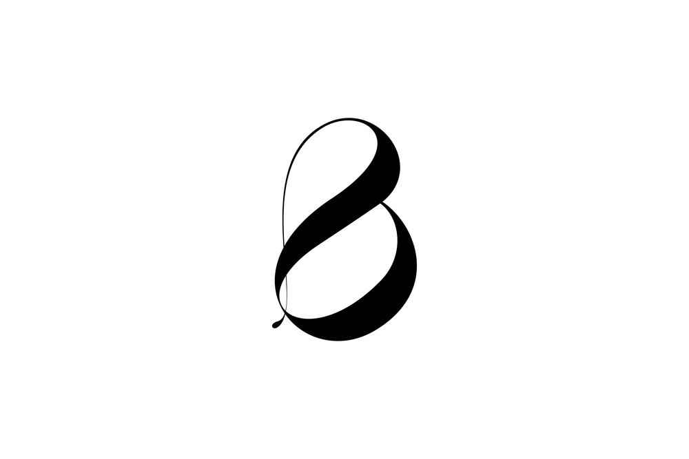 custom-b-logotype--moshik-nadav-typography