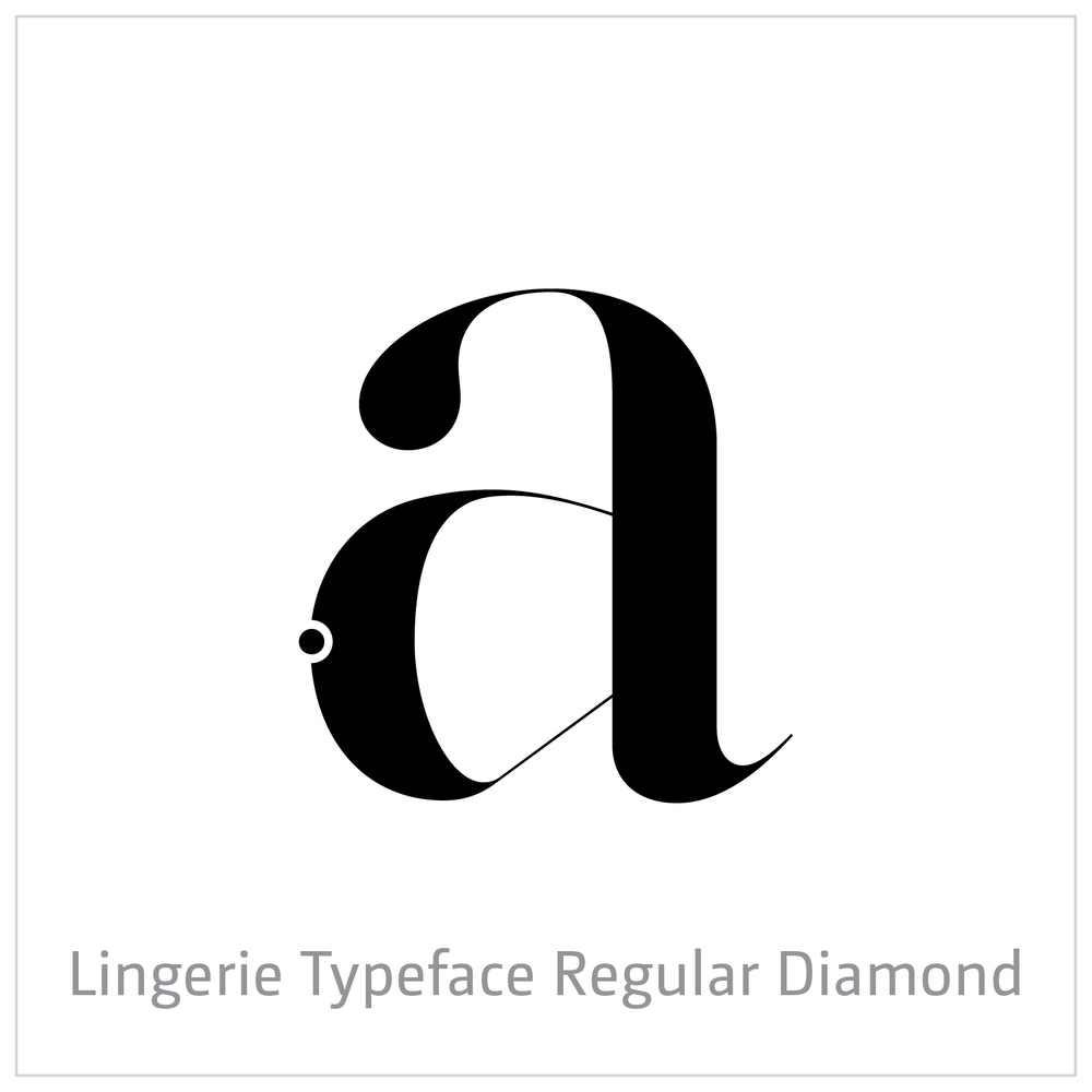 Lingerie Typeface Regular Diamond