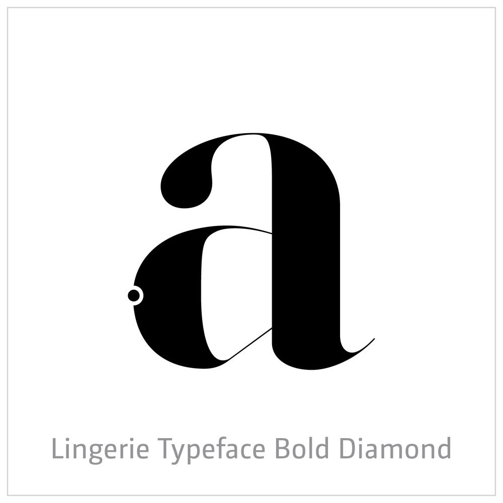 Lingerie Typeface Bold Diamond