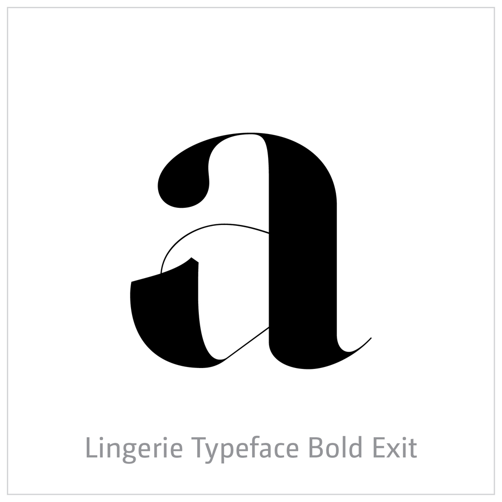 Lingerie Typeface Bold Wild
