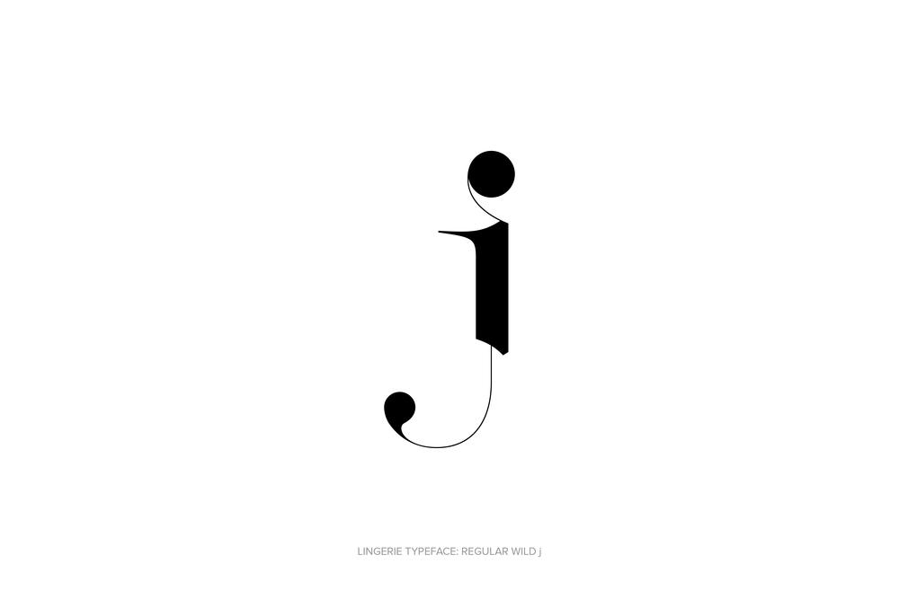 Lingerie Typeface Regular Wild by Moshik Nadav Typography.