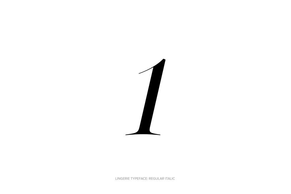 Lingerie Typeface Regular Italic by Moshik Nadav Typography.