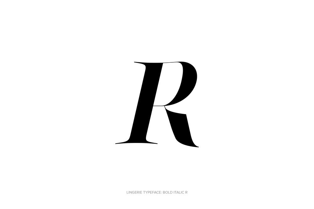 Lingerie Typeface Regular Bold Italic by Moshik Nadav Typography.