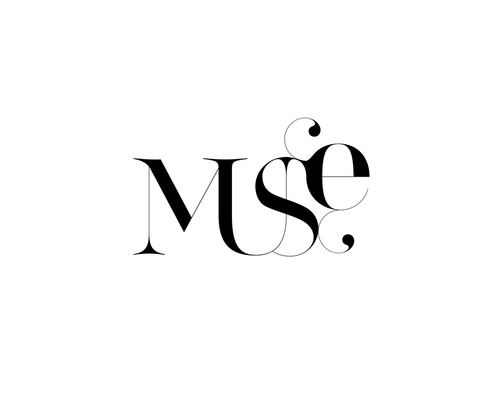 Muse is a sketch of a logotype designed by Moshik Nadav Typography