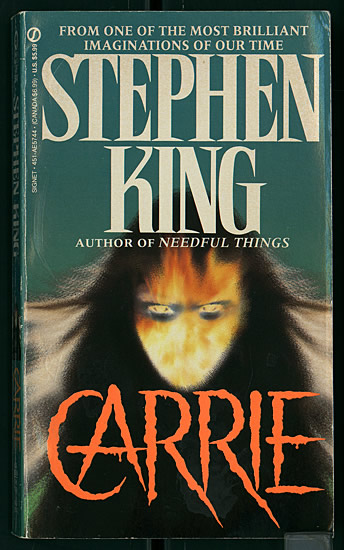 Stephen King Carrie font