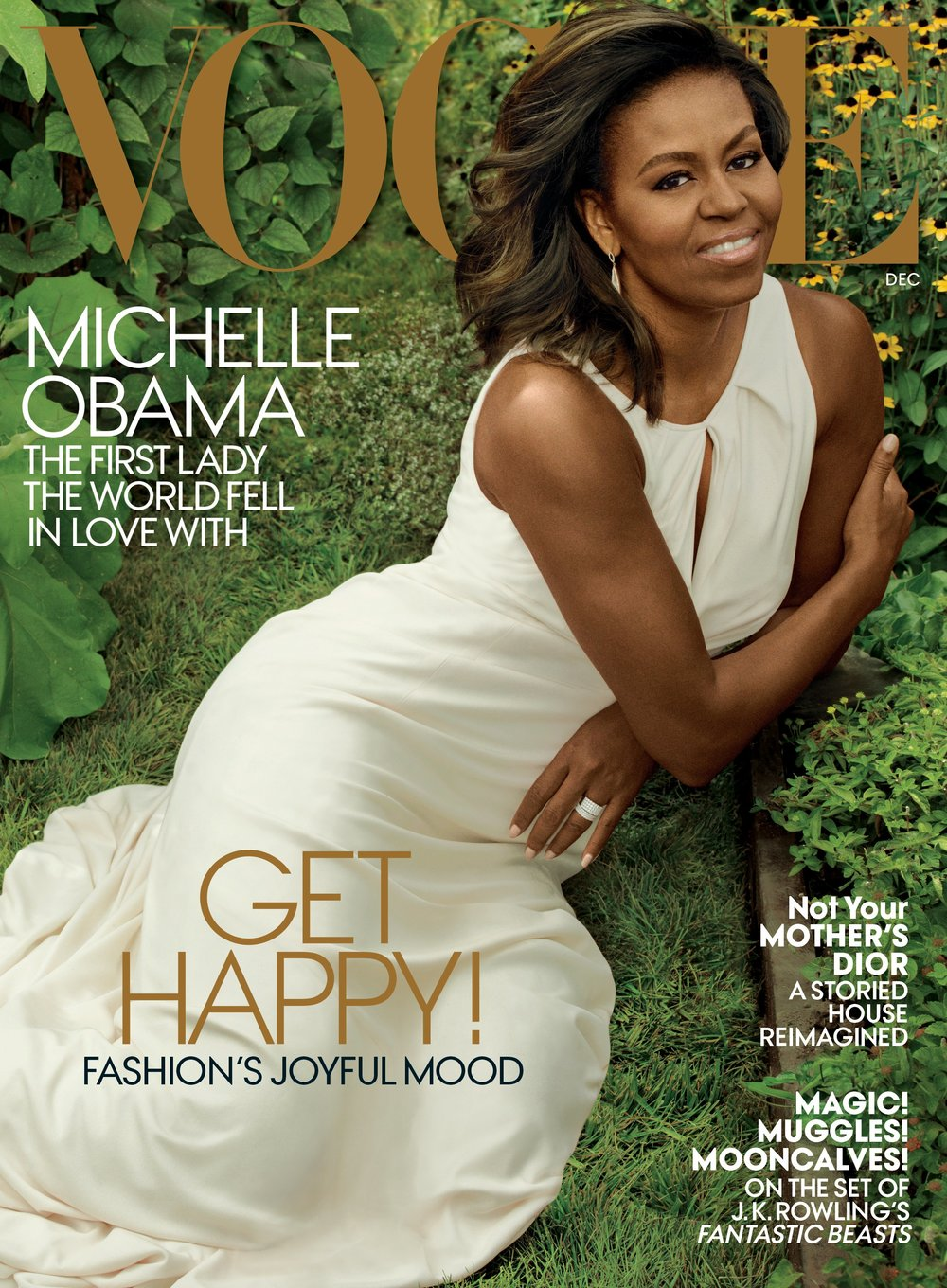 Michelle Obama on Vogue Magazine